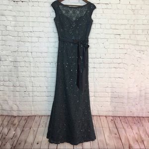 Morilee Beaded Lace Bridesmaid Dress 10 Altered